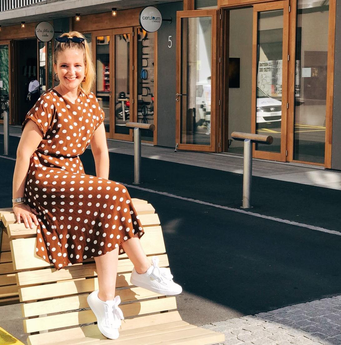 shopping au Flon à Lausanne