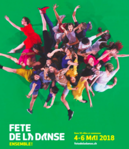 la fête de la danse à Lausanne, mai 2018