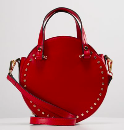 Sac rond rouge Topshop