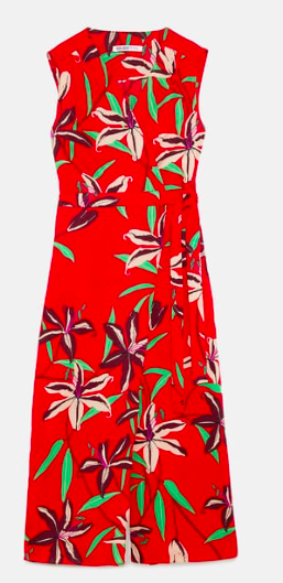 Combinaison à fleurs Zara