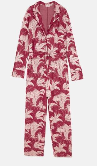 Combinaison jacquard Zara