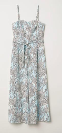Combinaison pantalons larges H&M