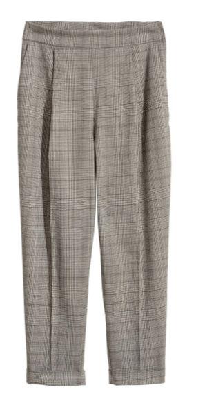 pantalon carreaux H&M