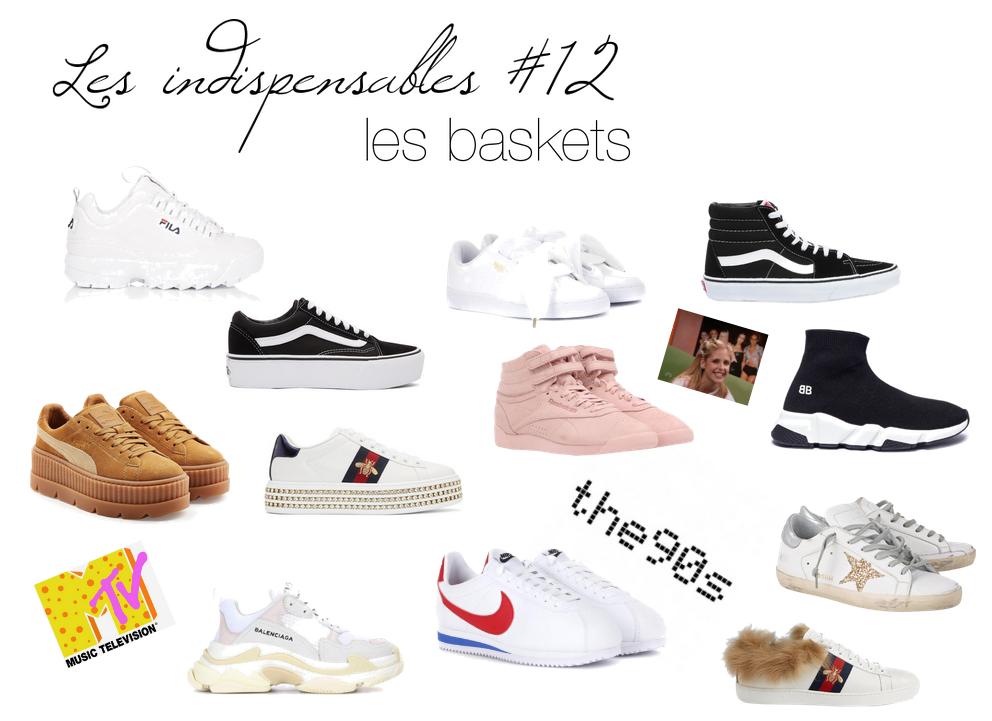 Les indispensables du dressing #12: les baskets