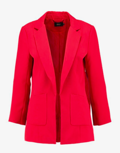 blazer rouge Only