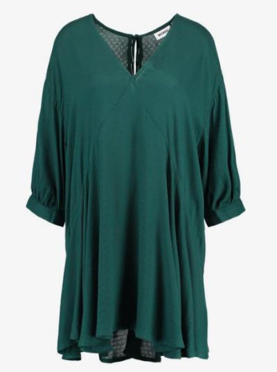 robe verte Weekday