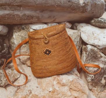 sac à dos en rotin Kinilush