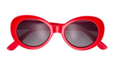 lunettes rouges vintage H&M