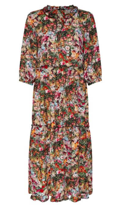 robe longue à fleurs Only